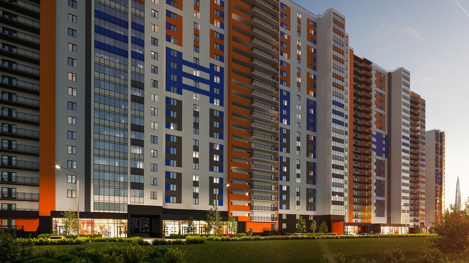 Start of sales! New phase of RC Polis on Komendantsky: apartments from 1,64 mln rubles